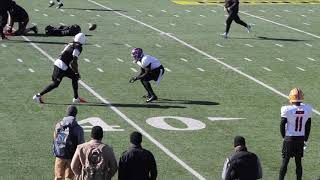 Gambar cover FBGP's 2020 Senior Bowl Practice Highlights: South Team WR-DB 1-on-1s