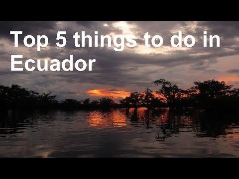 Top 5 things to do in Ecuador: Mindo, Cotopaxi, Quilotoa, Cuyabeno Jungle, Montanita