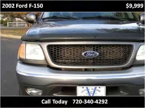 2002 ford f 150 used cars longmont co youtube for Victory motors trucks longmont