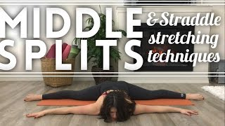 Middle Splits & Straddle Stretching Flow [Flexibility Training] DAY 4