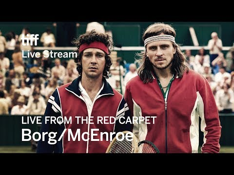 BORG/MCENROE Live from the Red Carpet | TIFF 2017