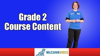 Grade 2 Course Content Family Dog Obedience