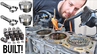 Building my SR20DET with Forged Internals