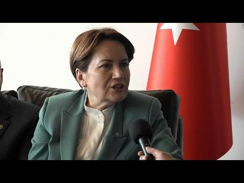 """No debate anymore in Turkey"" says opposition leader Aksener"