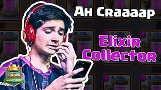Clash Royale: Collecting Elixir with Top 6 NA CCGS Player Ah Craaaap