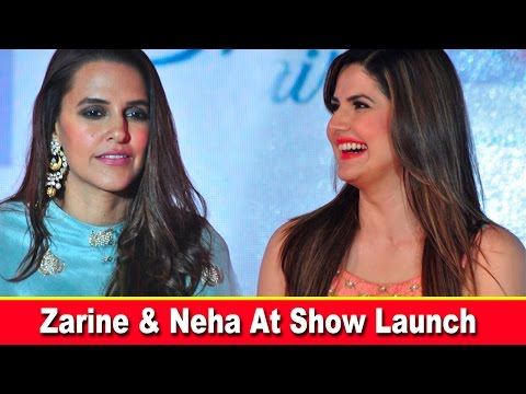 Zarine khan And Neha Dhupia At The Winter Fashion Affair in Pune