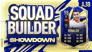 Fifa 21 Squad Builder Showdown!!! TEAM OF THE YEAR RONALDO!!!