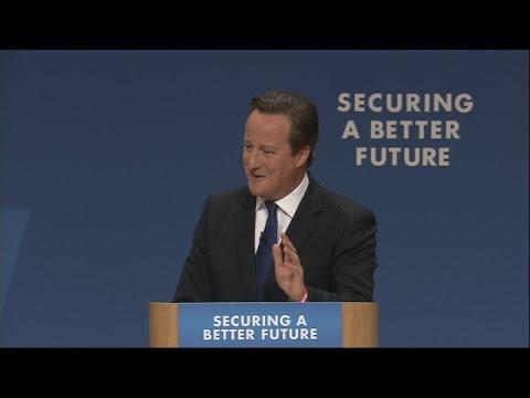 David Cameron's impression of William Hague | Channel 4 News