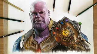 Drawing Thanos ( Avengers - Infinity War )