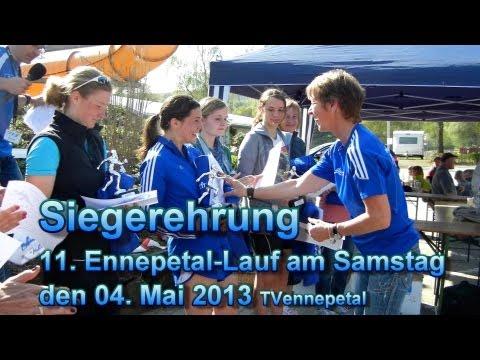 11. Ennepetal-Lauf am Samstag den 04 Mai 2013 die Siegerehrung TVennepetal