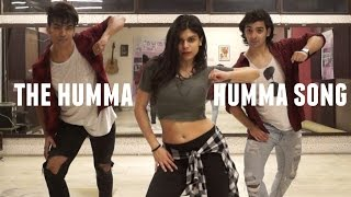 the humma song dance routine ok jaanu movie anmol mohit choreography