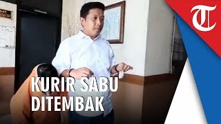 Kurir Sabu Asal Gowa Ditembak Tim Elang Polrestabes Makassar