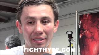 GENNADY GOLOVKIN PROMISES A PRESENT FOR FANS; EXPECTS DANGEROUS & INTERESTING FIGHT WITH LEMEIUX