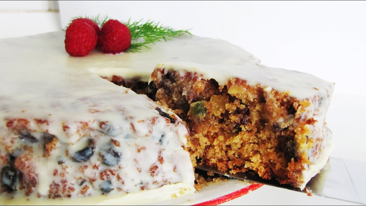 How To Make A Basic Fruit Cake Easy Recipe