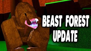 New Beast Forest Update in Boku No Roblox Remastered | iBeMaine