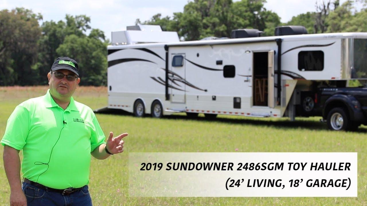 2019 Sundowner 2486SGM Toy Hauler for sale - Ocala Trailer