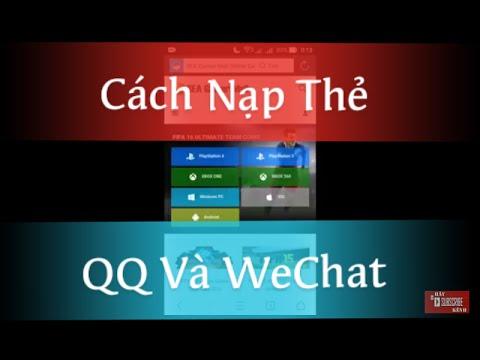 CF Mobile | Hướng Dẫn Nạp Thẻ QQ-WeChat Android A-Z
