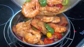 How to make sweet and sour prawns without vinegar 酸甜虾