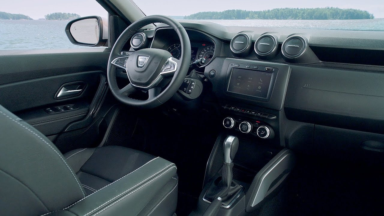 2018 dacia duster interior youtube. Black Bedroom Furniture Sets. Home Design Ideas