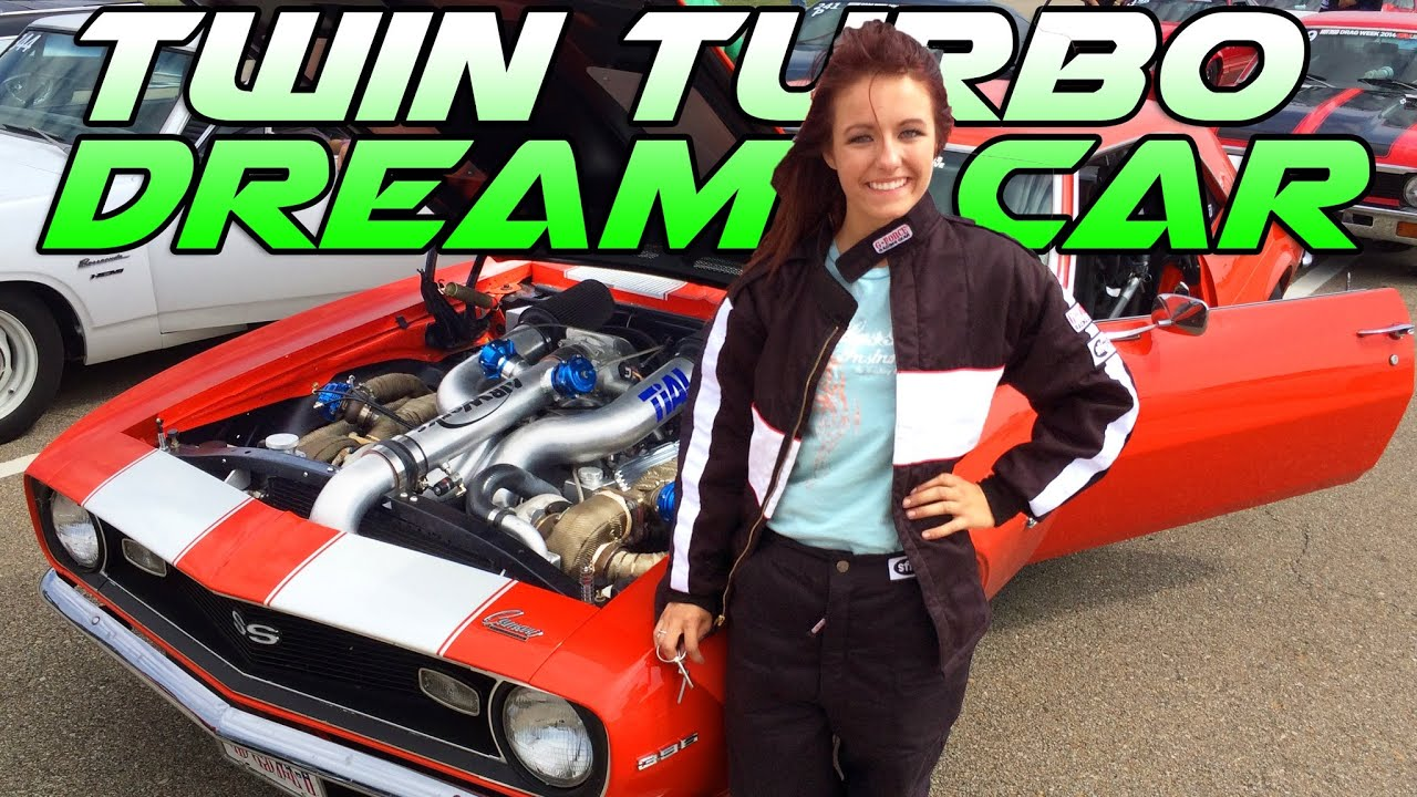 17 Year Old's INSANE Twin Turbo Camaro - YouTube
