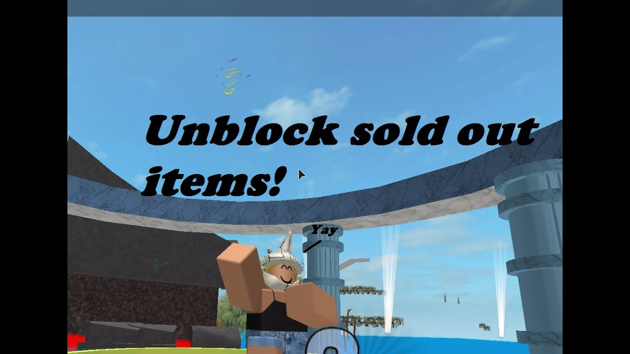 how to buy offsale items on roblox