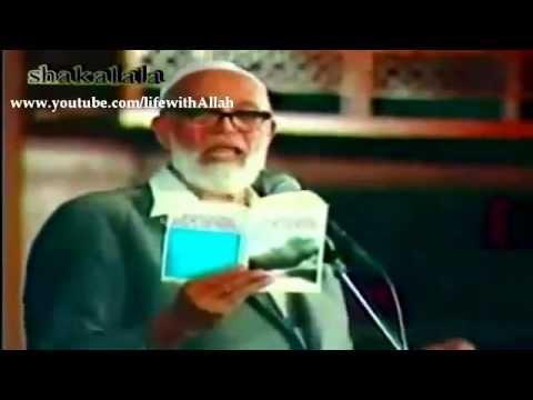 Ahmed Deedat Shuts Up a Christian Must Watch