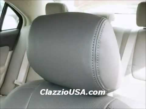 clazzio ford fusion 2010 leather seat covers youtube. Black Bedroom Furniture Sets. Home Design Ideas