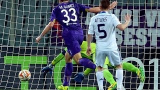 Fiorentina 2 - 0 Dynamo Kiev (agg 3 - 1): Gomez And Vargas Send Viola Through