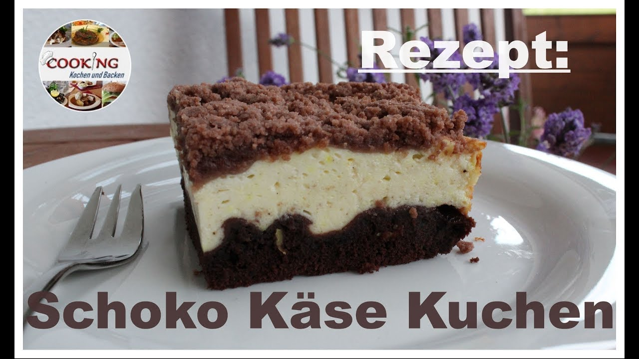 schoko k se kuchen mit vanillepudding und quark youtube. Black Bedroom Furniture Sets. Home Design Ideas