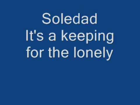 Soledad By Westlife (with Lyrics Too)