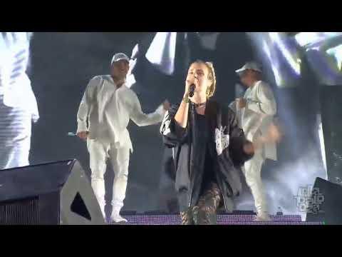 Major Lazer & MØ - Lean On [LIVE] @ Lollapalooza Festival 2016 Chicago
