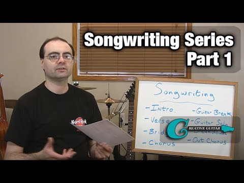 Songwriting Series - Part One