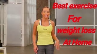 BEST WEIGHT LOSE EXERCISE BY SAMANTHA CLAYTON (REDUCE BELLY FAT, FOR ABS, WEIGHT LOSS)