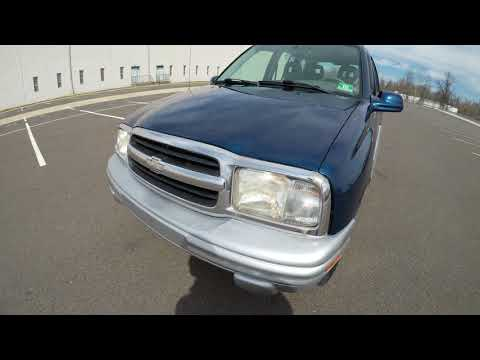 4K Review 2002 Chevrolet Tracker V6 4WD Virtual Test-Drive and Walk around