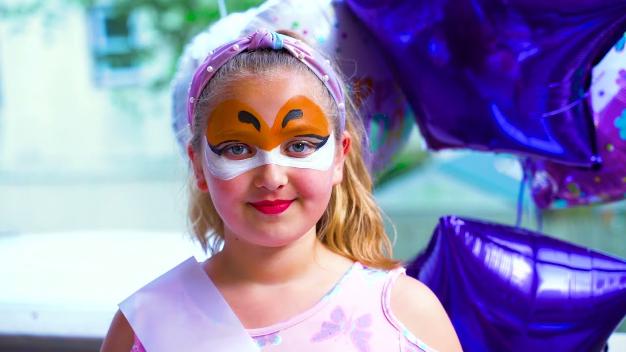 Nastya and her Birthday Party 9 years old