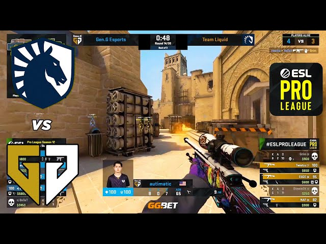 Liquid vs Gen.G - ESL Pro League - HIGHLIGHTS l CSGO
