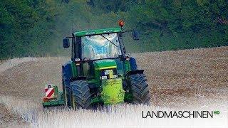 Bodenbearbeitung mit John Deere 6910
