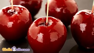 Candy apples - Halloween recipe
