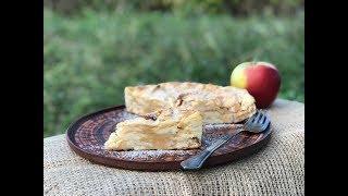 Рецепт очень вкусного яблочного пирога