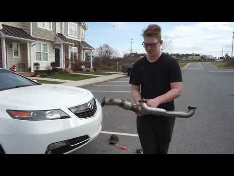 Acura and Honda DIY EndLessRPM J pipe performance exhaust install ( Full Video )
