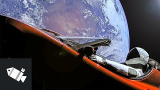 SpaceX Falcon Heavy Starman Timelapse In One Minute | I Need More Space