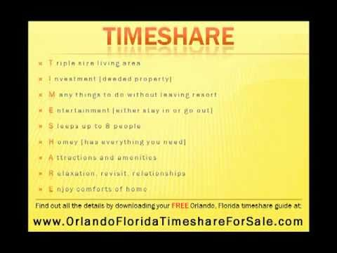 Timeshares In Florida >> Guide Orlando Florida Timeshares For Sale By Owner And Res