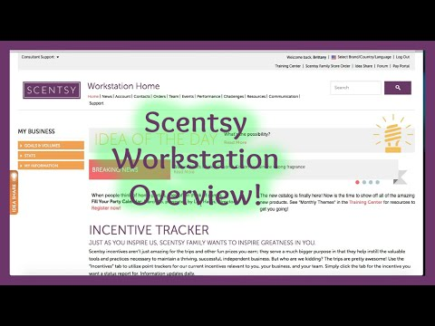 Scentsy Workstation Overview!