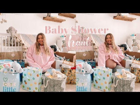BABY SHOWER HAUL // Unboxing + Essentials