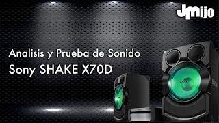 Sony Shake X70D - Análisis y Prueba de Sonido