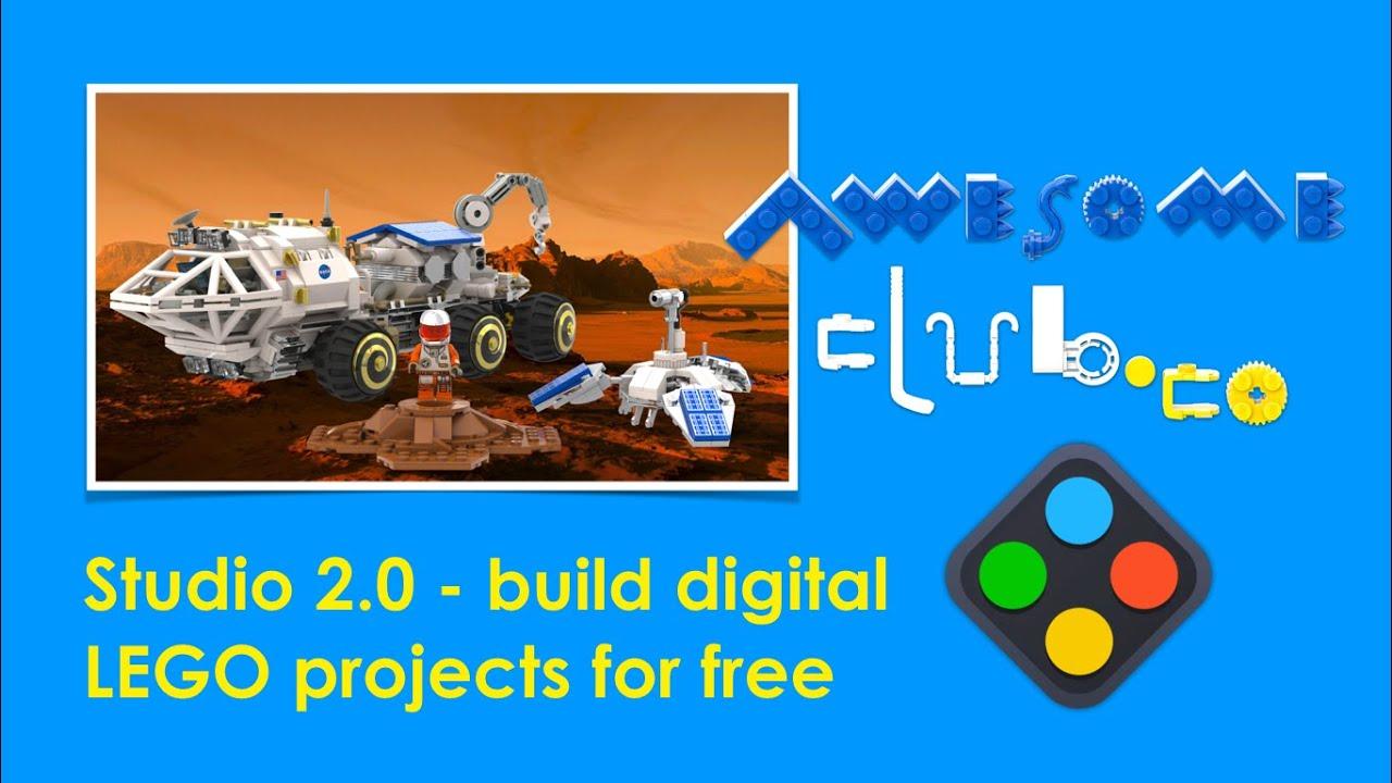 Build digital LEGO models for free - Studio 2.0 Tutorial