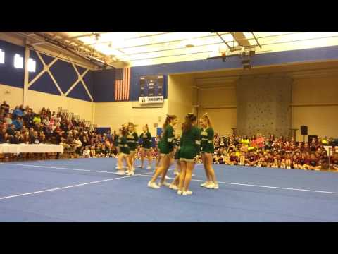 Oxford Hills middle school cheering 2016