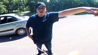 STUPID, CRAZY & ANGRY PEOPLE vs. BIKERS | ANGRY GUY PULLS GUN ON BIKER