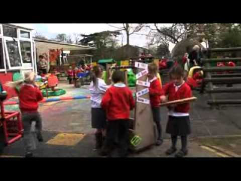 Early Years Foundation Stage: Children Play Outside