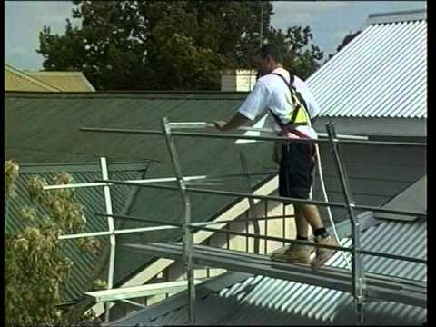 Roof Scaffold Youtube
